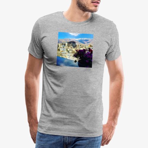 Teheran Panorama - Maglietta Premium da uomo