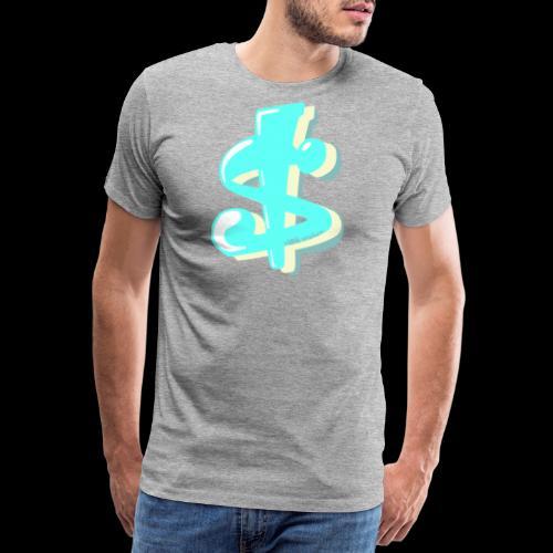 Kitschdollar - Mannen Premium T-shirt