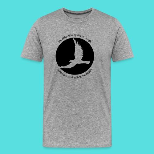 (difficult_new) - Männer Premium T-Shirt