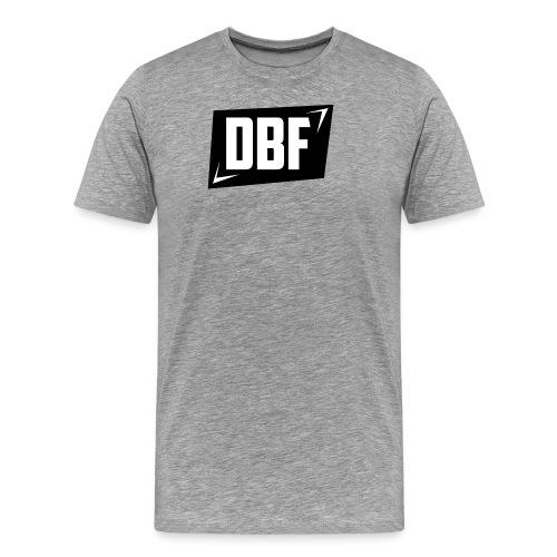 DBF Logo Text - Men's Premium T-Shirt