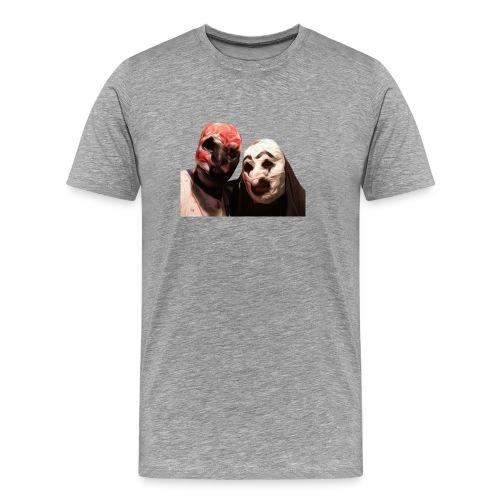 Horror Mask - Maglietta Premium da uomo