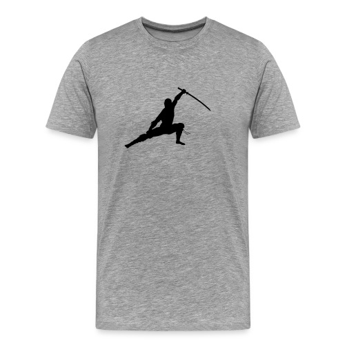 ninja kampf pose - Männer Premium T-Shirt