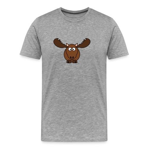 T-Shirt selbst gestalten sehr billig Elch - Männer Premium T-Shirt