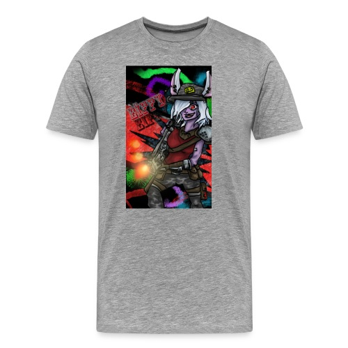 Eiffy la Dingue - T-shirt Premium Homme