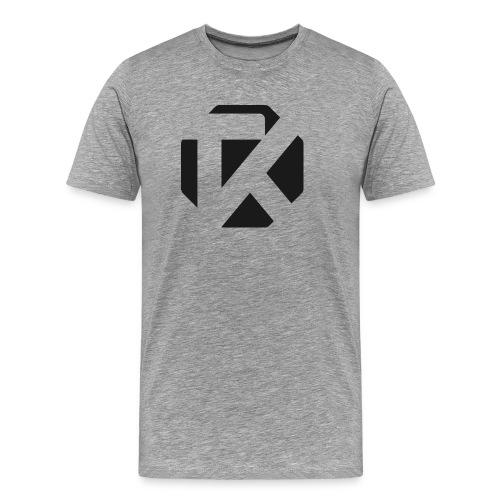 Logo TK Noir - T-shirt Premium Homme