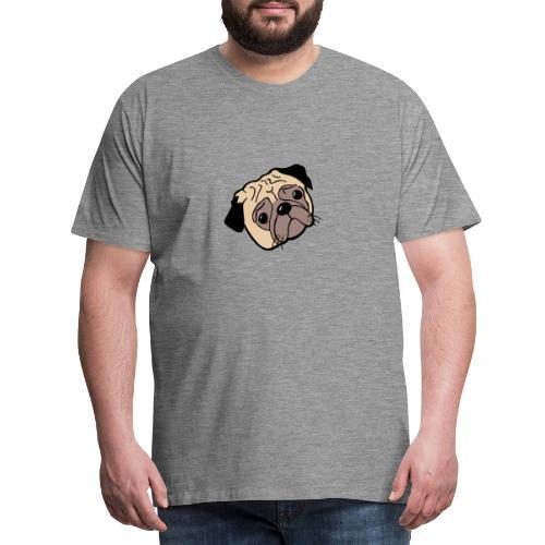 Mops - Männer Premium T-Shirt