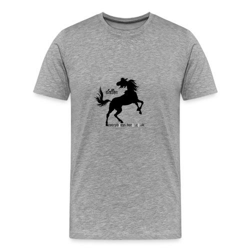 stallion - Men's Premium T-Shirt