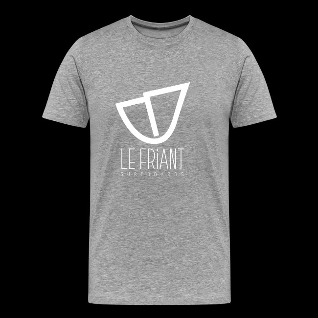 Logo Blanc Le Friant Surfboards
