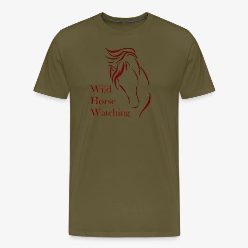 Logo Aveto Wild Horses - Maglietta Premium da uomo