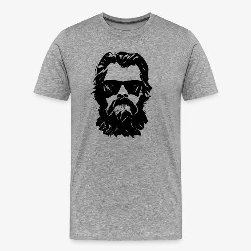 beardface - Männer Premium T-Shirt