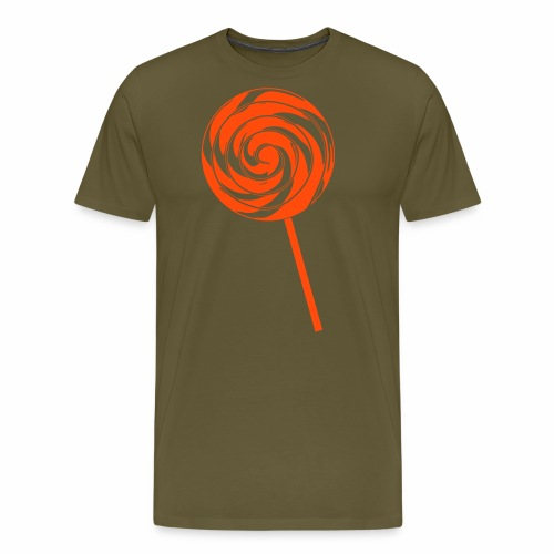 Retro Lolly - Männer Premium T-Shirt