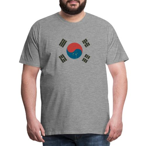 Proud To Be A South Korea. - Men's Premium T-Shirt