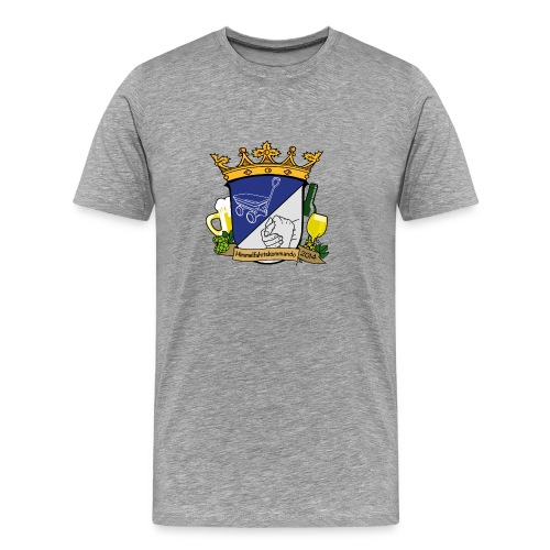 Wappen HimFahKom - Männer Premium T-Shirt