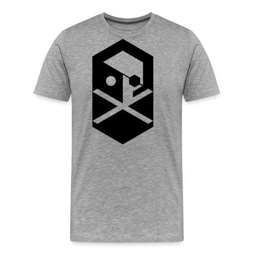 crossbones original png - Men's Premium T-Shirt