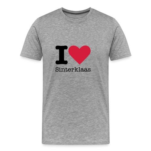 I Love Sinterklaas - Mannen Premium T-shirt