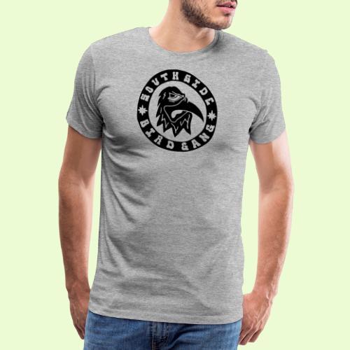 BLACK EAGLE LOGO - Miesten premium t-paita