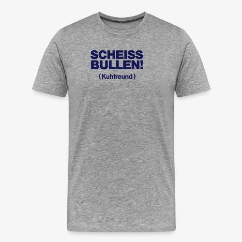 Kuhfreund - Männer Premium T-Shirt