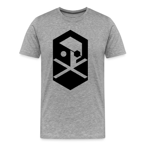 crossbones original png - Men's Premium T-Shirt