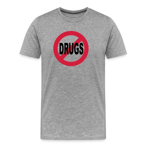 No to drugs - Men's Premium T-Shirt