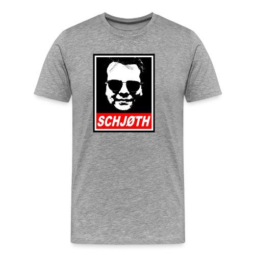 SCHJØTH - Herre premium T-shirt