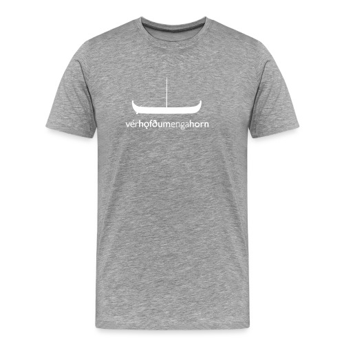 WeHadNoHorns - Gokstadship - Men's Premium T-Shirt