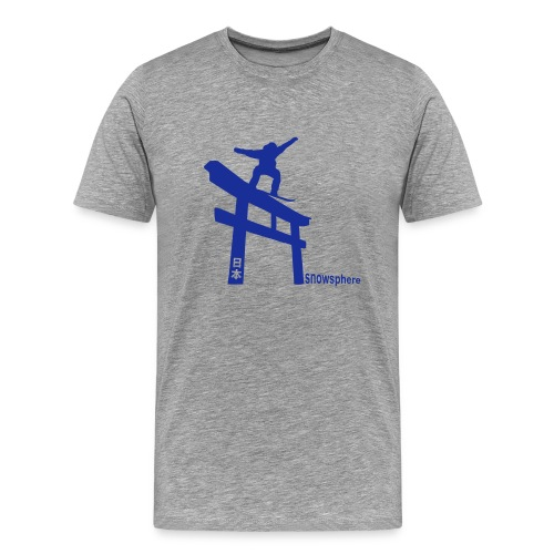Snowboard Japan Torii Slide - Men's Premium T-Shirt