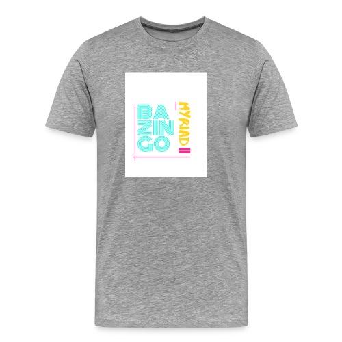 Bazingo Myriad II - Männer Premium T-Shirt
