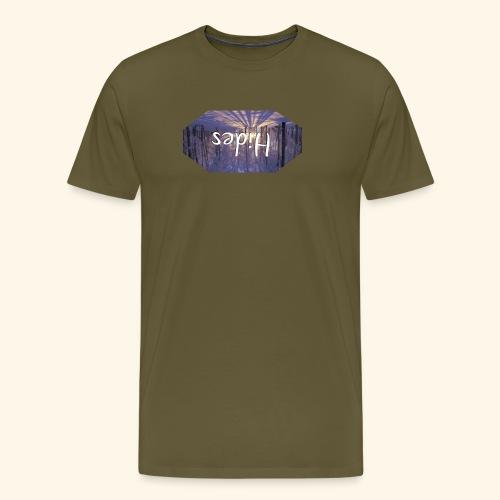 Hides Winter Woods - Premium T-skjorte for menn