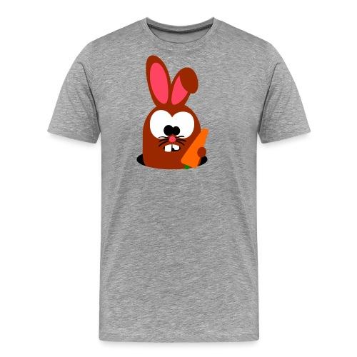 "Hase ""Möhritz"" - Männer Premium T-Shirt"