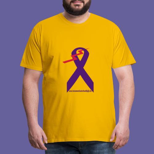 Logo clusterhoofdpijn - T-shirt Premium Homme