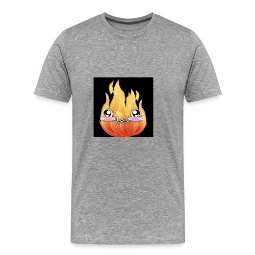 FireDotLess Original logo - Men's Premium T-Shirt
