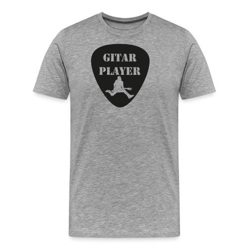 GitarSpringer T-Shirt mit Action Gitarrist - Männer Premium T-Shirt