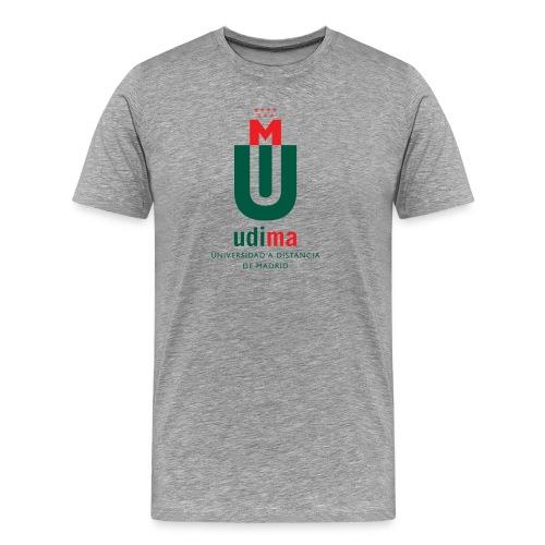 logoudimavertical - Camiseta premium hombre