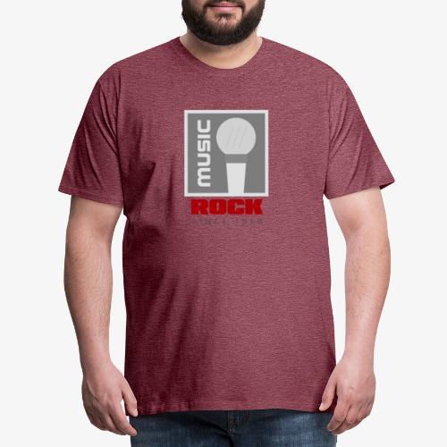 MUSIC 004R - Camiseta premium hombre