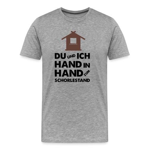 Hand in Hand zum Schorlestand / Gruppenshirt - Männer Premium T-Shirt