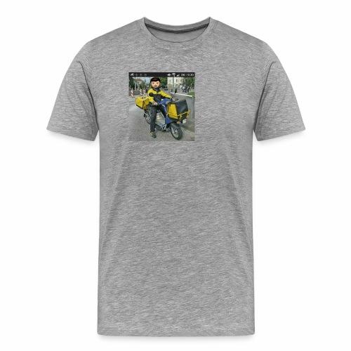 Postbote - Männer Premium T-Shirt