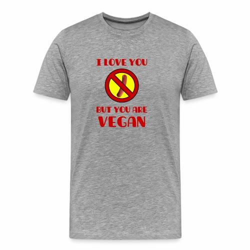 VEGAN STYLE - Maglietta Premium da uomo