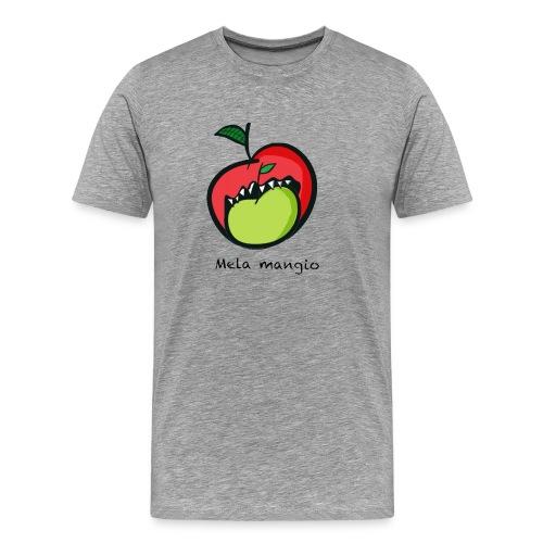 Angry for apple-Mela mangio - Maglietta Premium da uomo