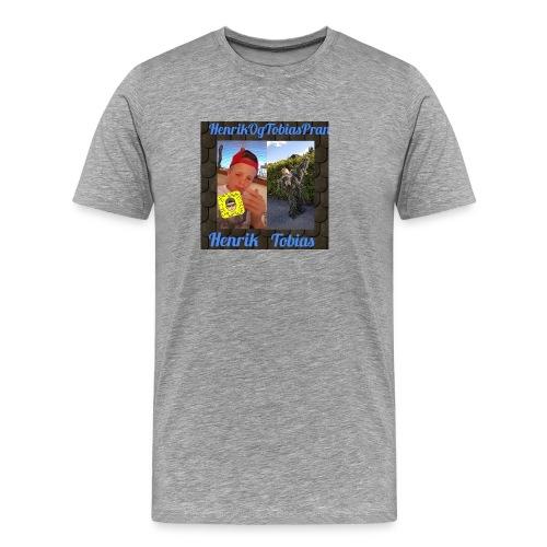 HenrikOGTobias - Premium T-skjorte for menn