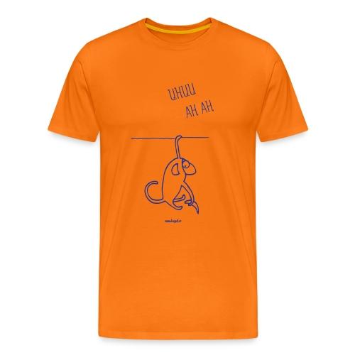 scimmia - Maglietta Premium da uomo