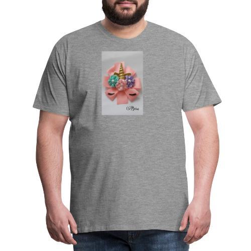 Moño de unicornio - Camiseta premium hombre