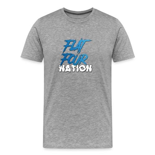 Flat Four Nation - Men's Premium T-Shirt