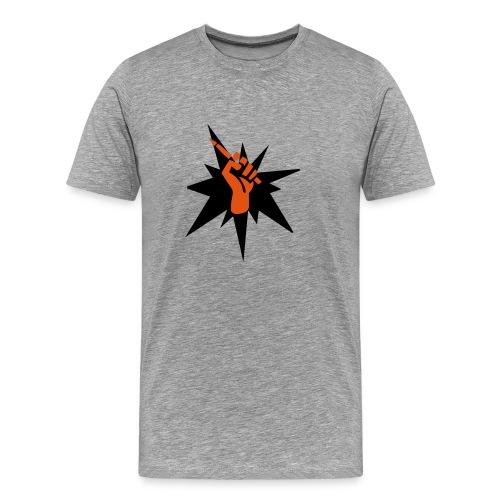 Die Macht der Feder - Männer Premium T-Shirt