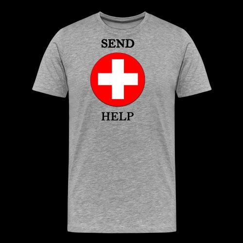 SendHelp - Männer Premium T-Shirt