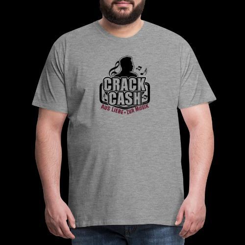 CrackCash Logo 2019 - Männer Premium T-Shirt