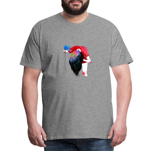 hair drying - Men's Premium T-Shirt