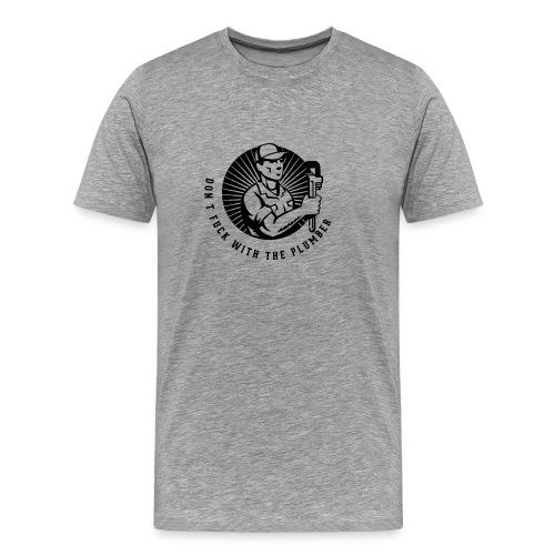 plumber design1 - Mannen Premium T-shirt
