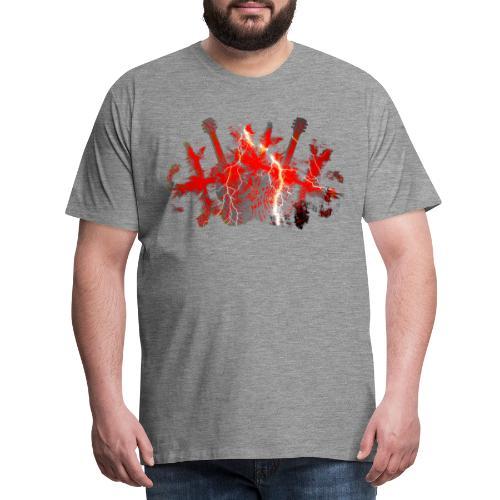 Lightning - Männer Premium T-Shirt