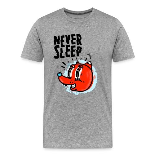 Never Sleep - Männer Premium T-Shirt