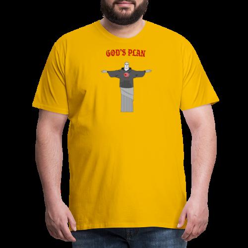 God's Plan - T-shirt Premium Homme